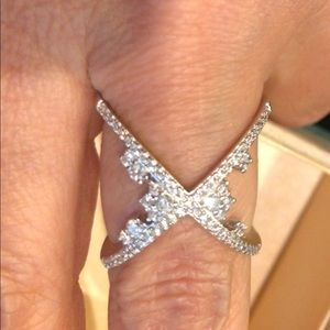 Jewelry - 925 Sterling Silver CZ Ring